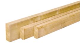 Aanslaglat 2,2 x 2,2 x 200 cm Grenen geïmpregneerd (per 2 stuks)