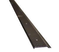 Aluminium knelprofiel 250 cm, zwart