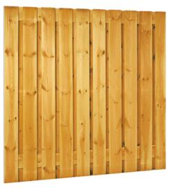 21-planks scherm 180 x 180 cm