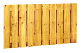 21-planks scherm 180 x 130 cm