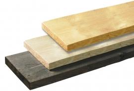 2,9 x 19 x 500 cm Steigerplank blank
