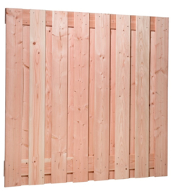 19-planks scherm Douglas 180 x 180 cm