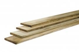 1,6 x 14 x 180 cm Grenen geschaafde plank Geïmpregneerd