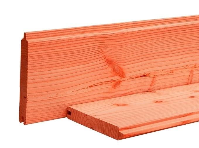 Blokhutprofiel 2,8 x 19,5 x 500 cm Blank Douglas