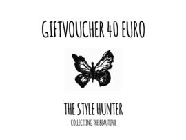 GIFTVOUCHER 40 EURO