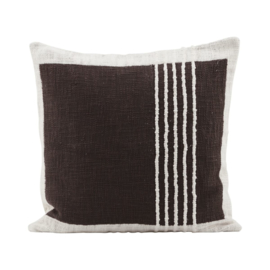 HOUSE DOCTOR cushion YARN BROWN