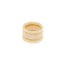 SIDAI DESIGNS ring/ivory-gold