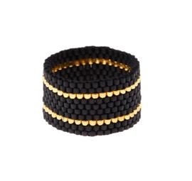 SIDAI DESIGNS ring/black-gold