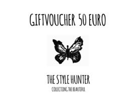 GIFTVOUCHER 50 EURO
