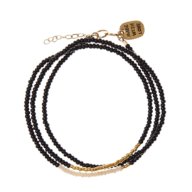 SIDAI DESIGNS triple wrap bracelet