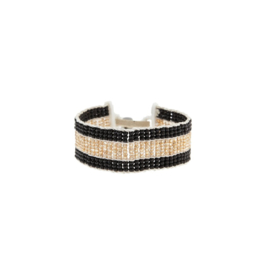 SIDAI DESIGNS bracelet/black-gold