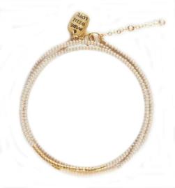 SIDAI DESIGNS triple wrap bracelet