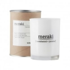 MERAKI scented candle fresh cotton