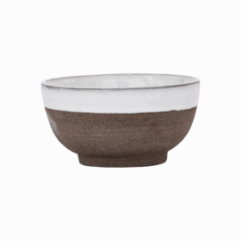 HH bowl clay white
