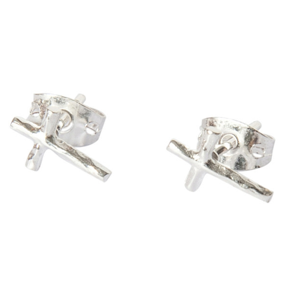 BETTY BOGAERS little cross earrings