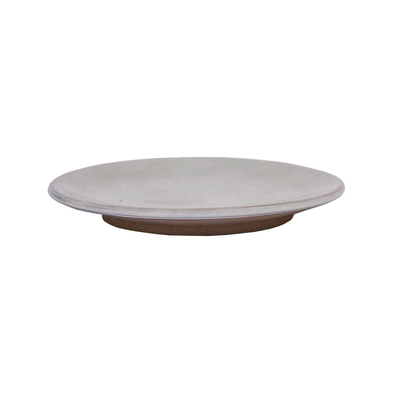 HH plate clay white