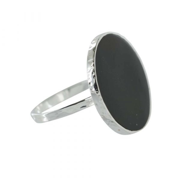BETTY BOGAERS ring black circle S 16
