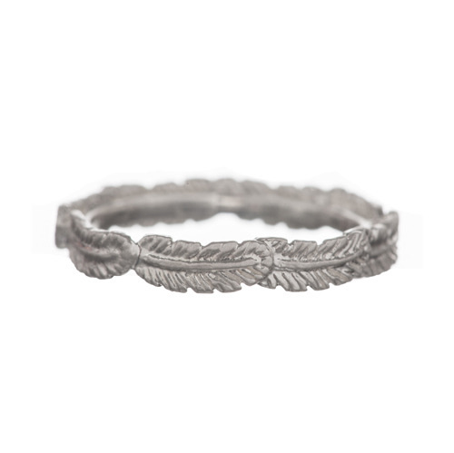BETTY BOGAERS feather ring