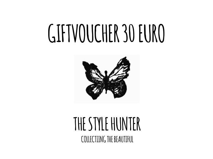 GIFTVOUCHER 30 EURO