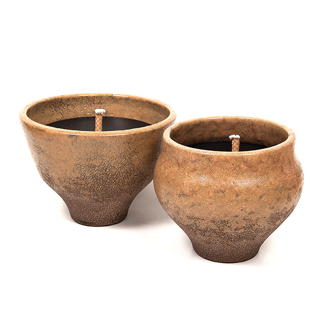 PAJU DESIGN outdoor candle MARRON