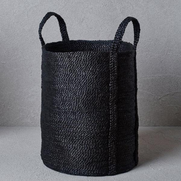 THE DHARMA DOOR laundry jute basket