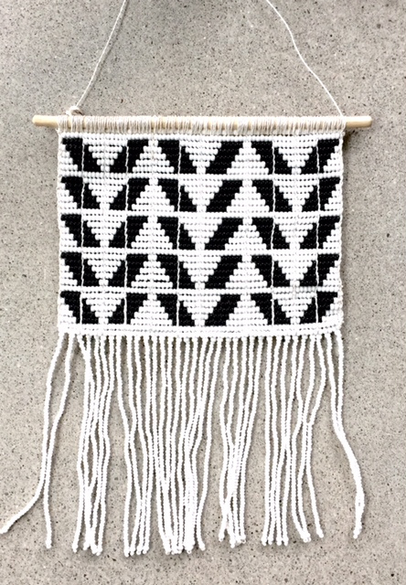 CHEVRON WALLHANGING SMALL