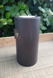 Bob Two One T-Light Vase ( Black/inside Mole)