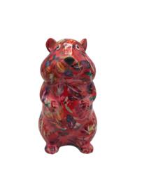 Pomme Pidou spaarpot Hamster Finn