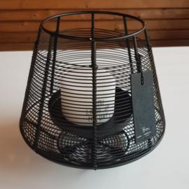Bob Iron candle holder black ( M )