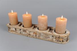 Rasteli Kaarsenhouder voor  4 kaarsen