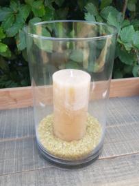 Cilinder glas/ vaas D18 cm