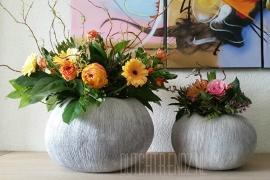 Periglass  Vase Glacier Grey