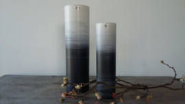 Bob  Cylinder vase Burnt Ashed matt jomaze