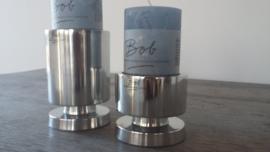 Bob  Aluminium round candle Pillar
