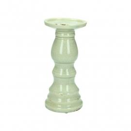 Candle holder Ceramic Grey