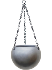 Baq Gradient hanging globe matt grey (D24)