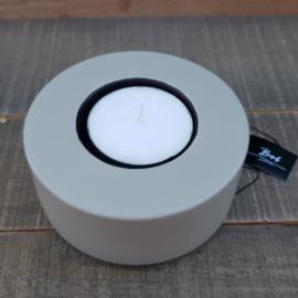 Bob Flat t -light holder (mole/ inside black)