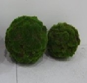 Peri Glass  Green Moss Deco ball