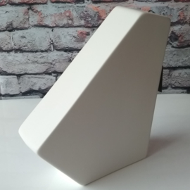 Bob 3D Vase L White Sandy