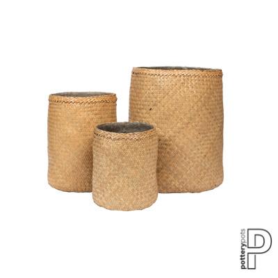 Pottery Pots Bohemian Kenyi (set van 3)