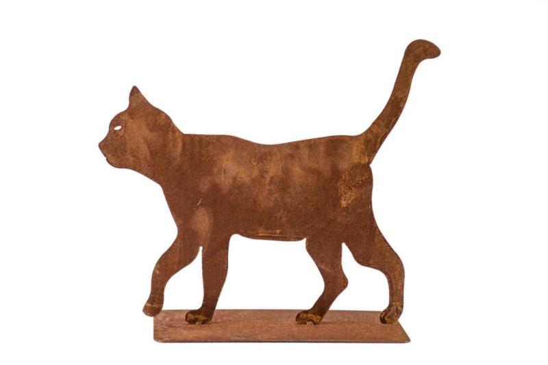 Kat lopend roestijzer