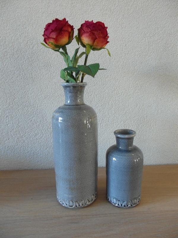 Vase Terra blue ( klein)