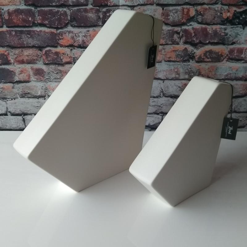 Bob 3D vase S White Sandy