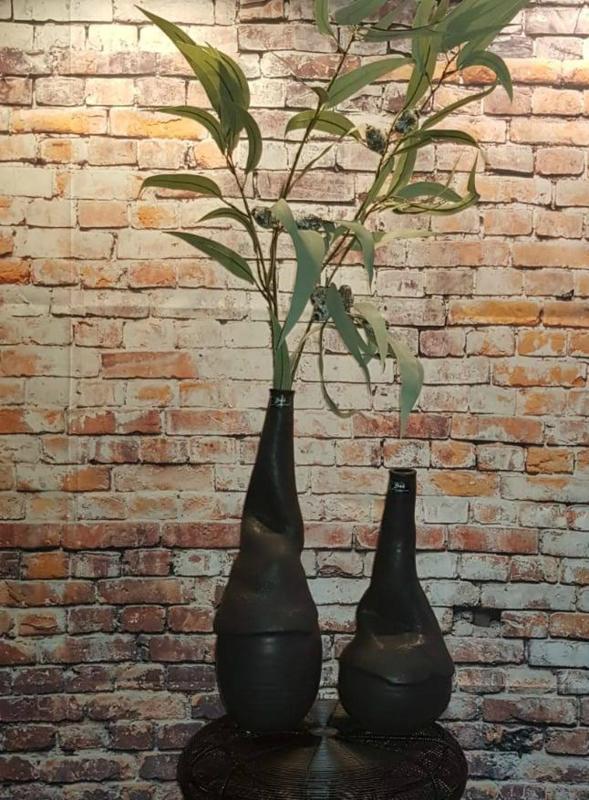 Bob Greek Masterpiece vase M Black
