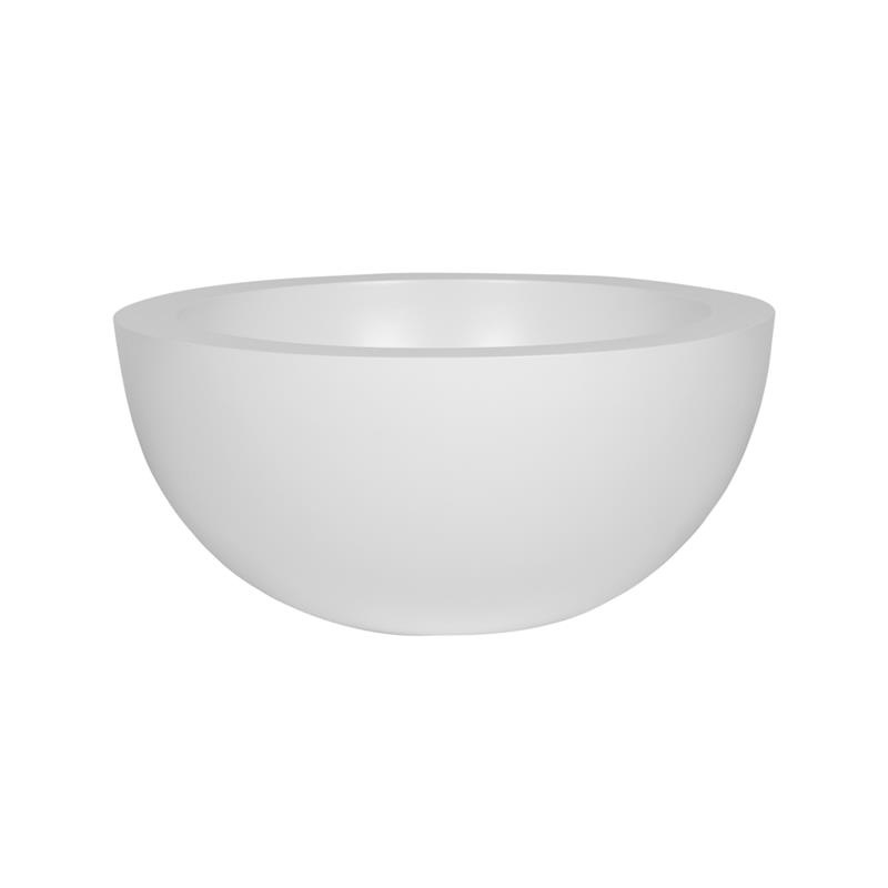 Pottery Pots Fiberstone Vic Bowl L