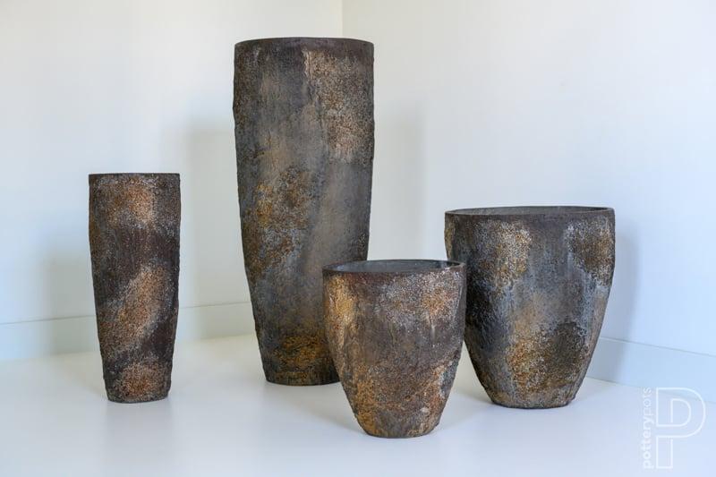 Pottery Pots Oyster Bernd L ( D53cm)