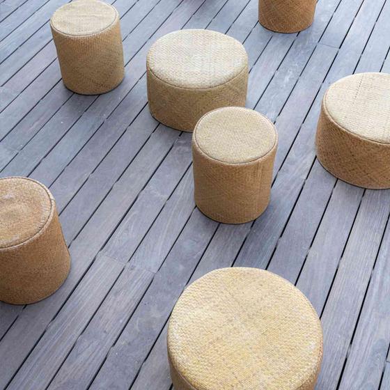 Pottery Pots Hocker Round