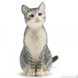 kat zittend 13771 -