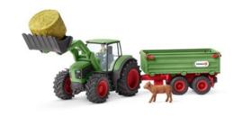 tractor met aanhangwagen 42379