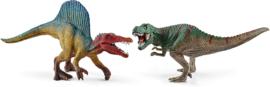 small velociraptor en T-rex 41455